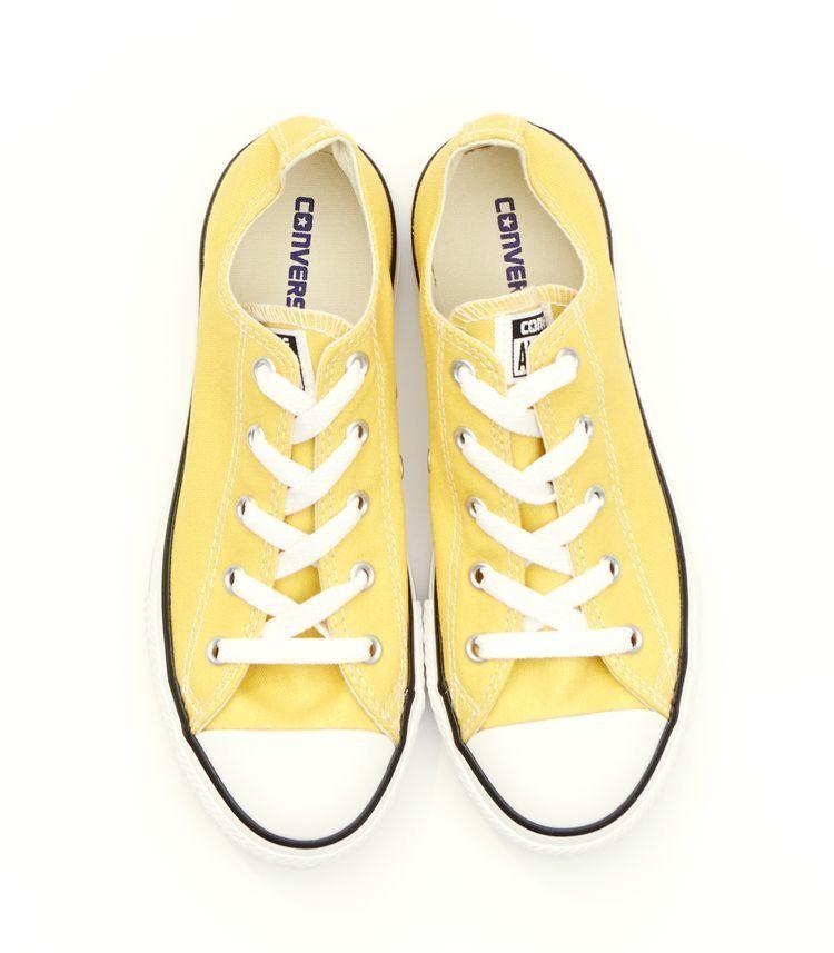 converse zapatillas mujer amarillas