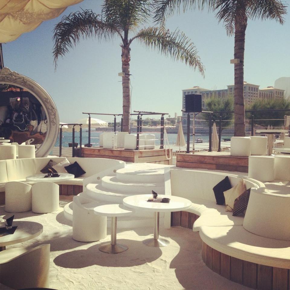 Monte-Carlo Beach Club - Playa