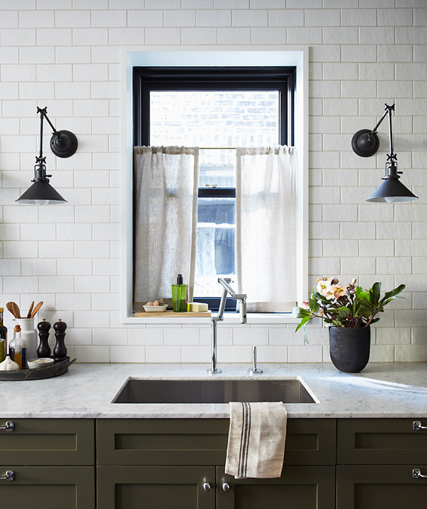 Wall Sconce Kitchen Sink Google Search In 2020 Small Apartment