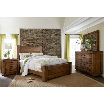 Loon Peak Hilton Panel Configurable Bedroom Set in 2018 Products