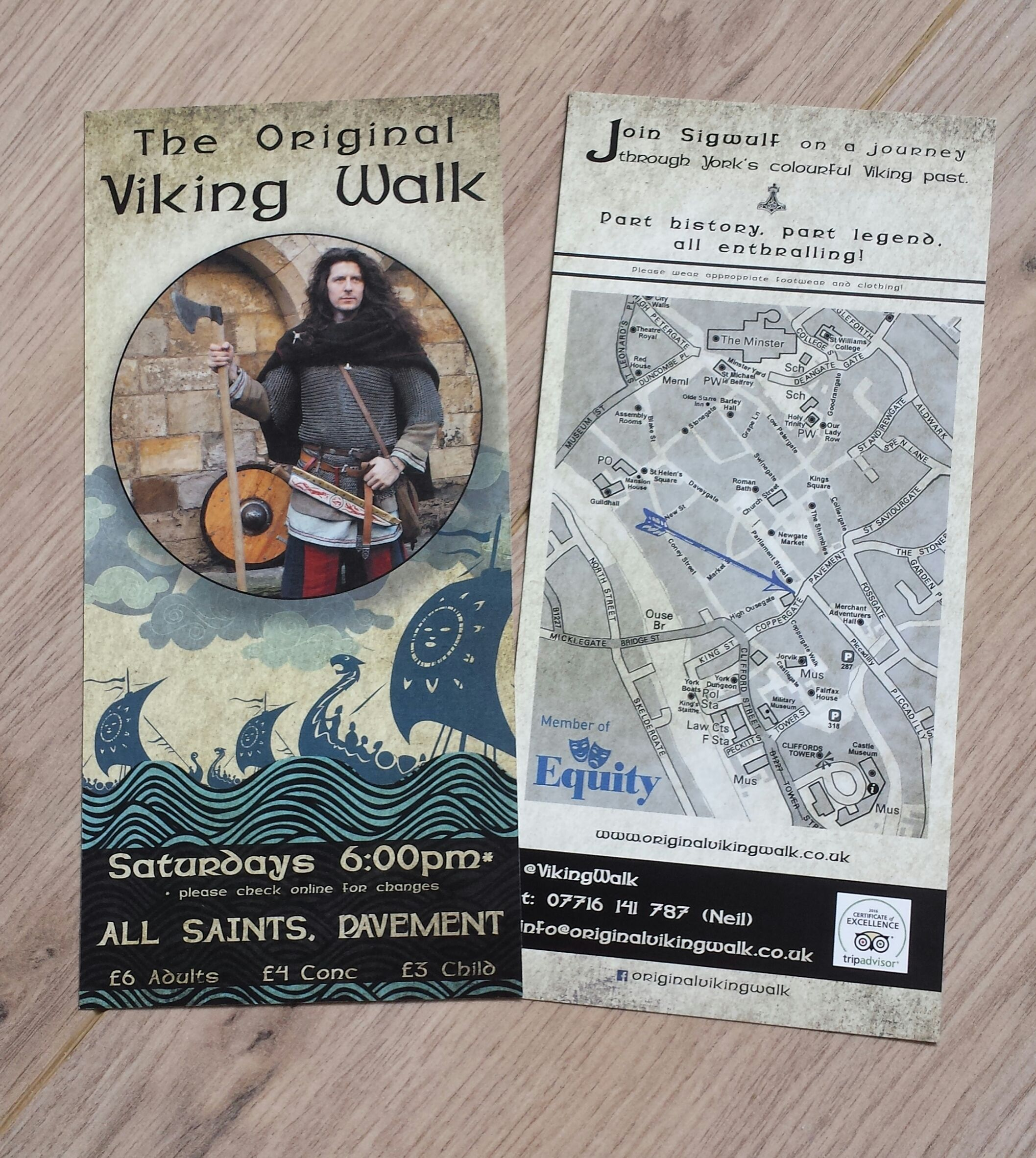 And here they are, they new original flyers for 2016!  :D   www.facebook.com/originalvikingwalk   e: info@originalvikingwalk.co.uk   t: +44(0)7716141787 (Neil) @VikingWalk www.northernforge.co.uk