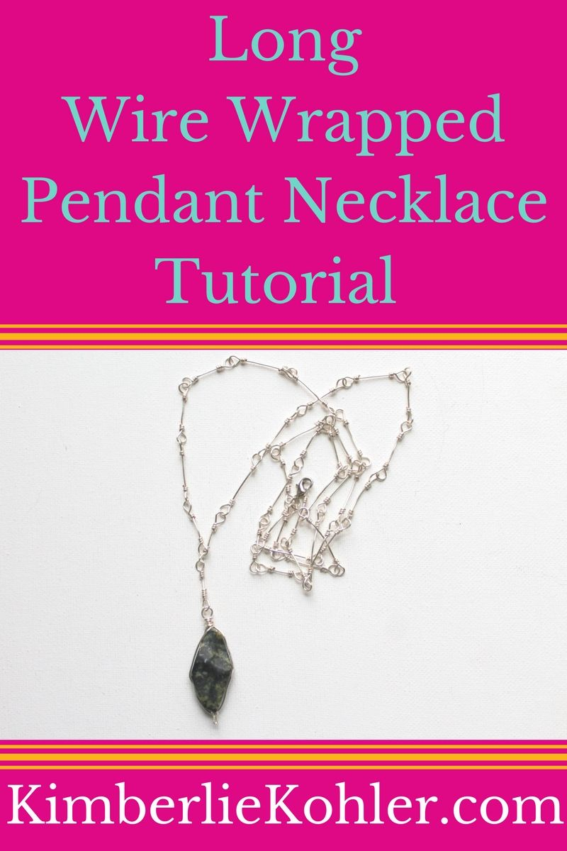 Wire Wrapped Pendant Necklace | JEWELRY 101/PROJECT/TIPS(NEW ...