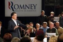 12 #prezpix #prezpixmr Mitt Romney on the Atlanta Journal Constitution 3/1/12