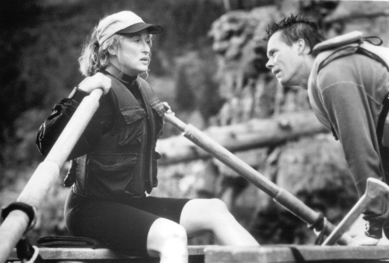 Still of Kevin Bacon and Meryl Streep in The River Wild (1994)