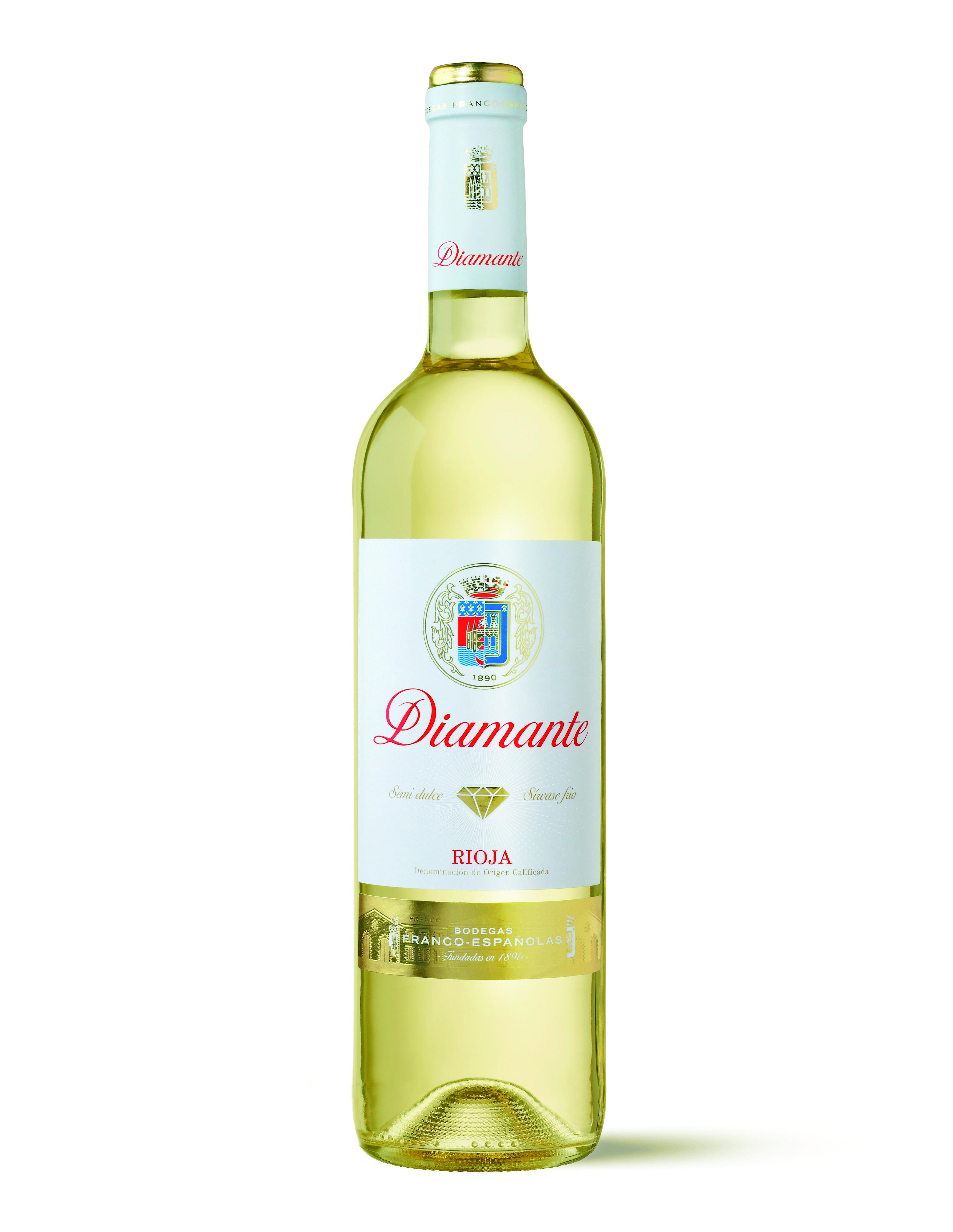 Diamante Vino Blanco Semidulce Vino