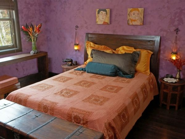 einrichtungsideen schlafzimmer gästezimmer einrichten wohnung - wandgestaltung schlafzimmer effektvolle ideen
