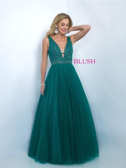 prom dresses, Blush formal dresses