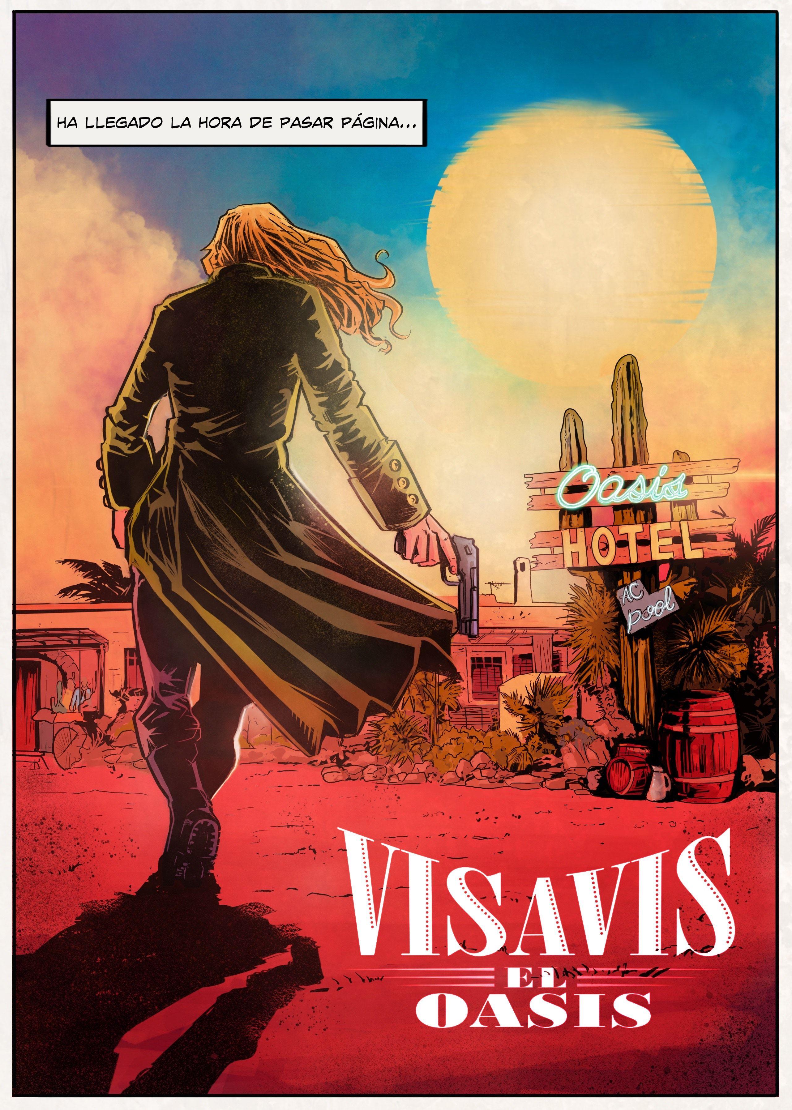 Vis A Vis El Oasis Ilustracoes Desenhos Poster