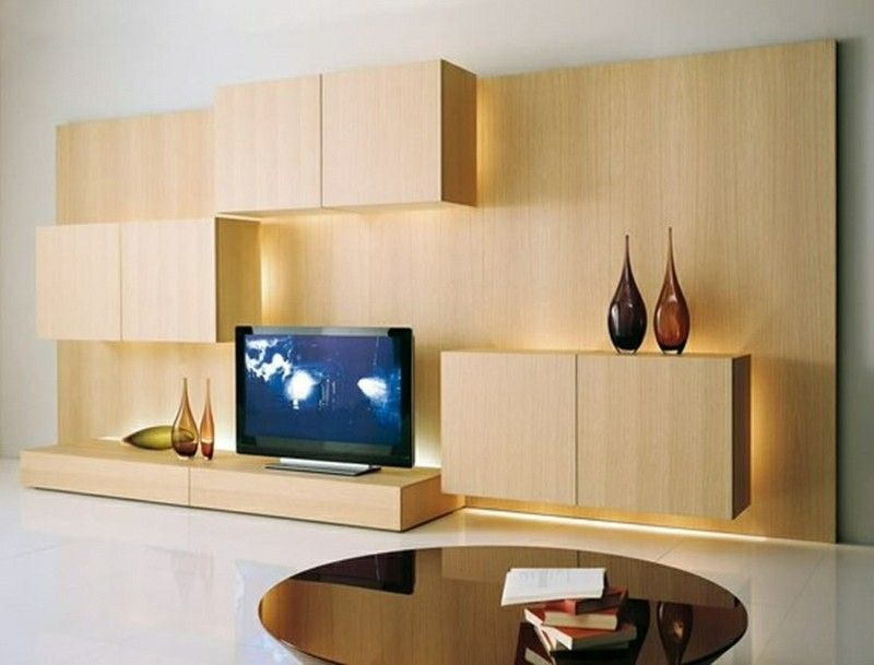 TV wall wooden indirect lighting | centros TV | Pinterest | Indirect ...