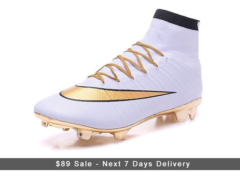 This is what you get with the Nike Mercurial Superfly CR7 White Gold 2016  cleats