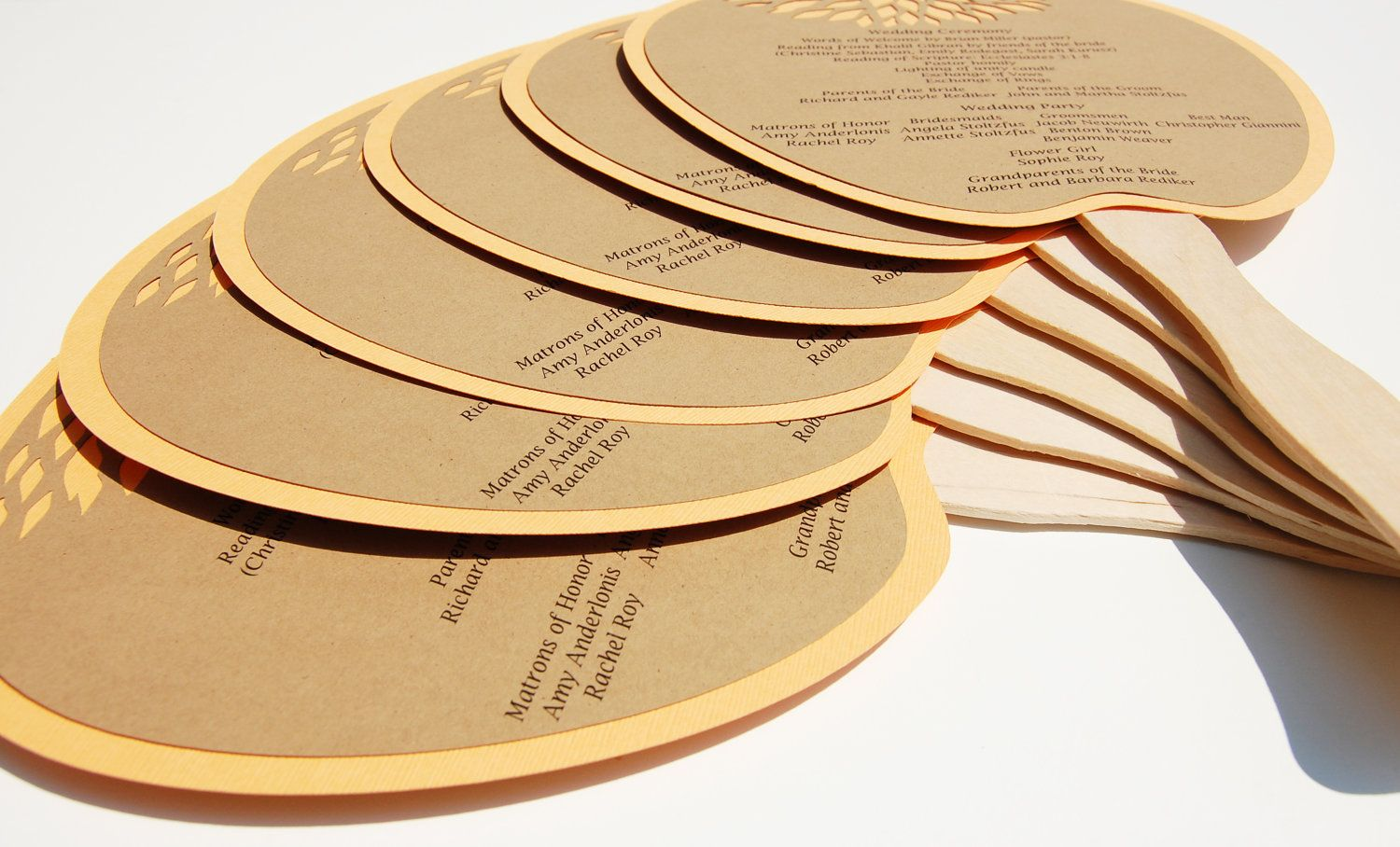 Homemade paddle fans for wedding stationery gardening pinterest
