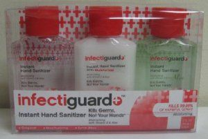 Infectiguard Variety Pack Of 3 Instant Hand Sanitizers By Dr