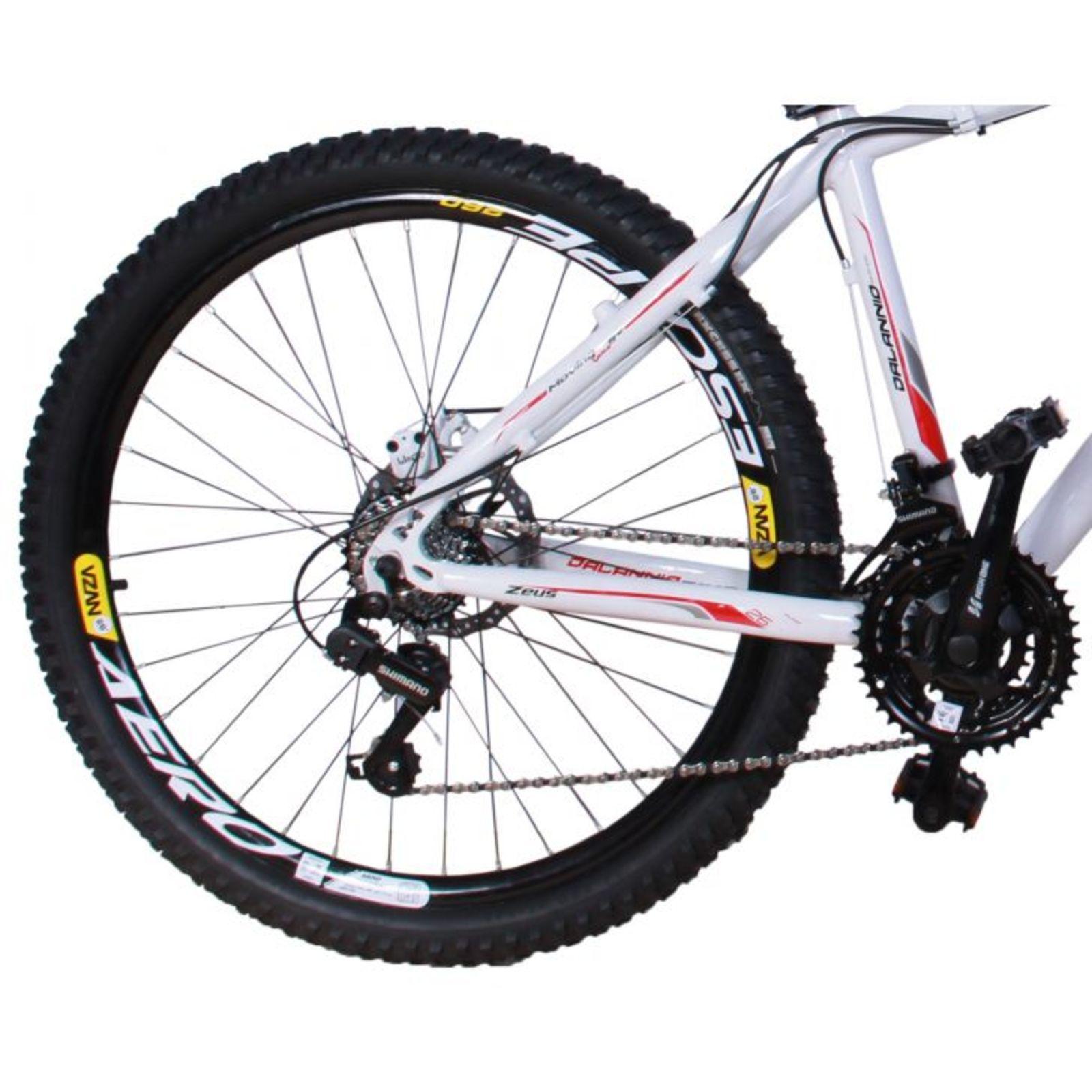 Bicicleta MTB Dalannio Bike Zeus Alumínio 21V Aro 29 Duplo ...