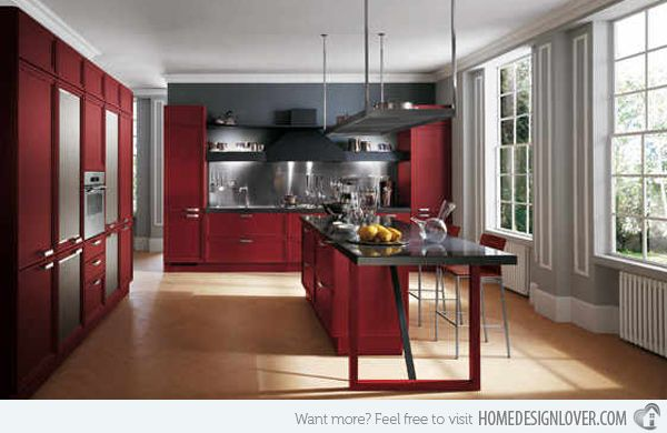 Best Images About Kitchen Ideas On Pinterest Red Kitchen