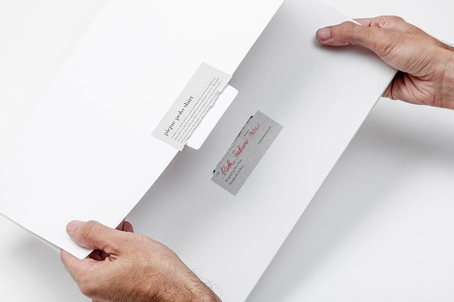 Packaging for fashion brand Handvaerk designed by Savvy
