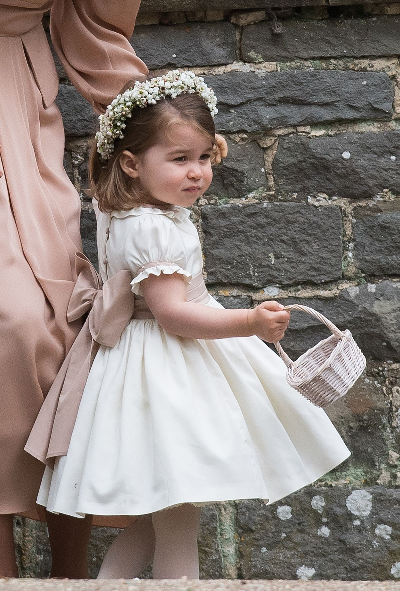Birthday girl princess charlotte is ready to reprise her