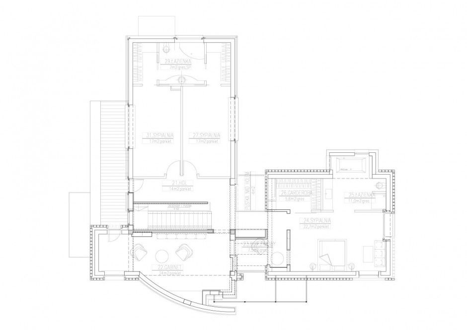 The Open Air Sculpture House By Marek Rytych Architekt Plans - Open-air-sculpture-residence-by-marek-rytych-architekt