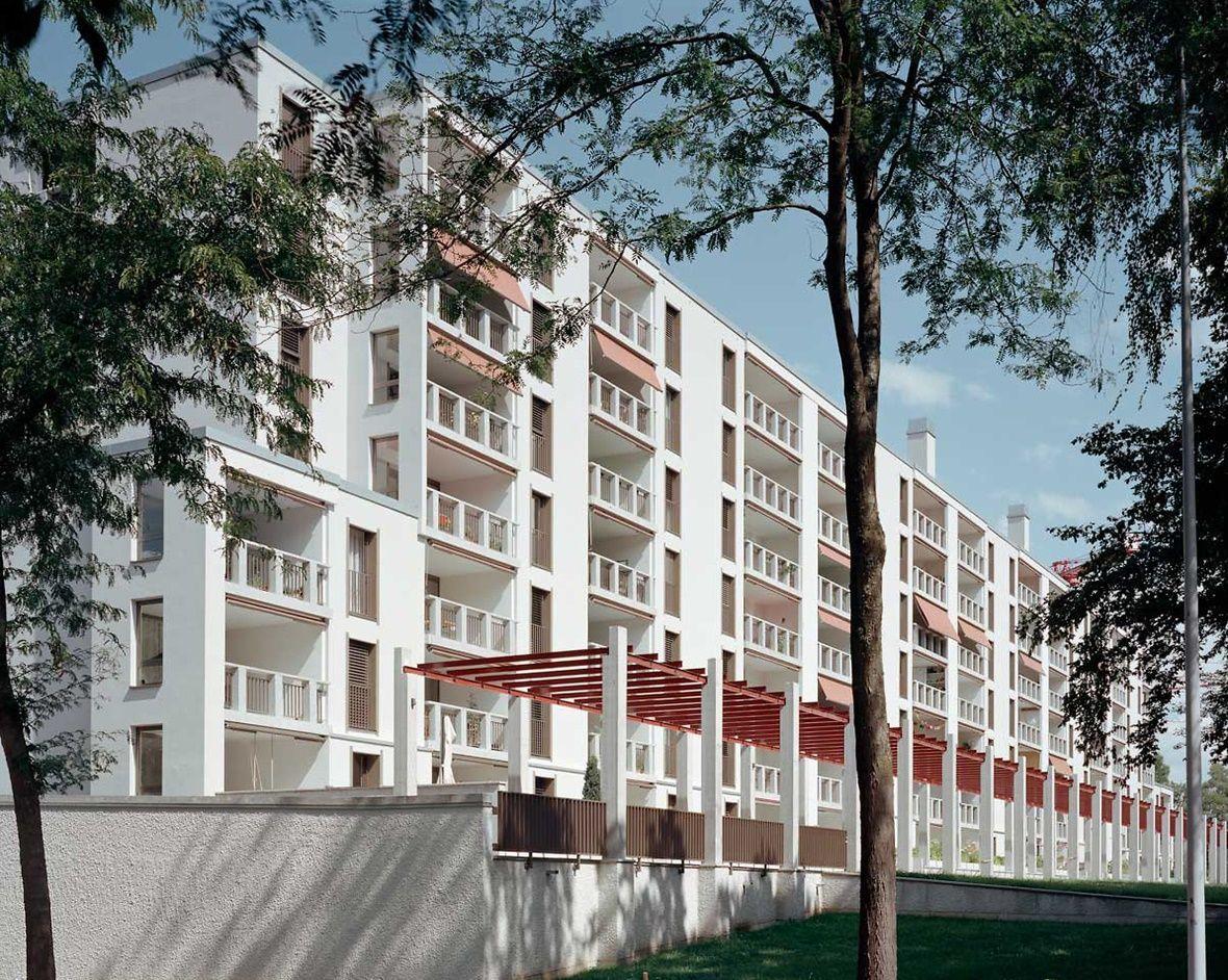 Studio Apartment Zurich peter märkli . im gut housing . zurich (2) | peter märkli