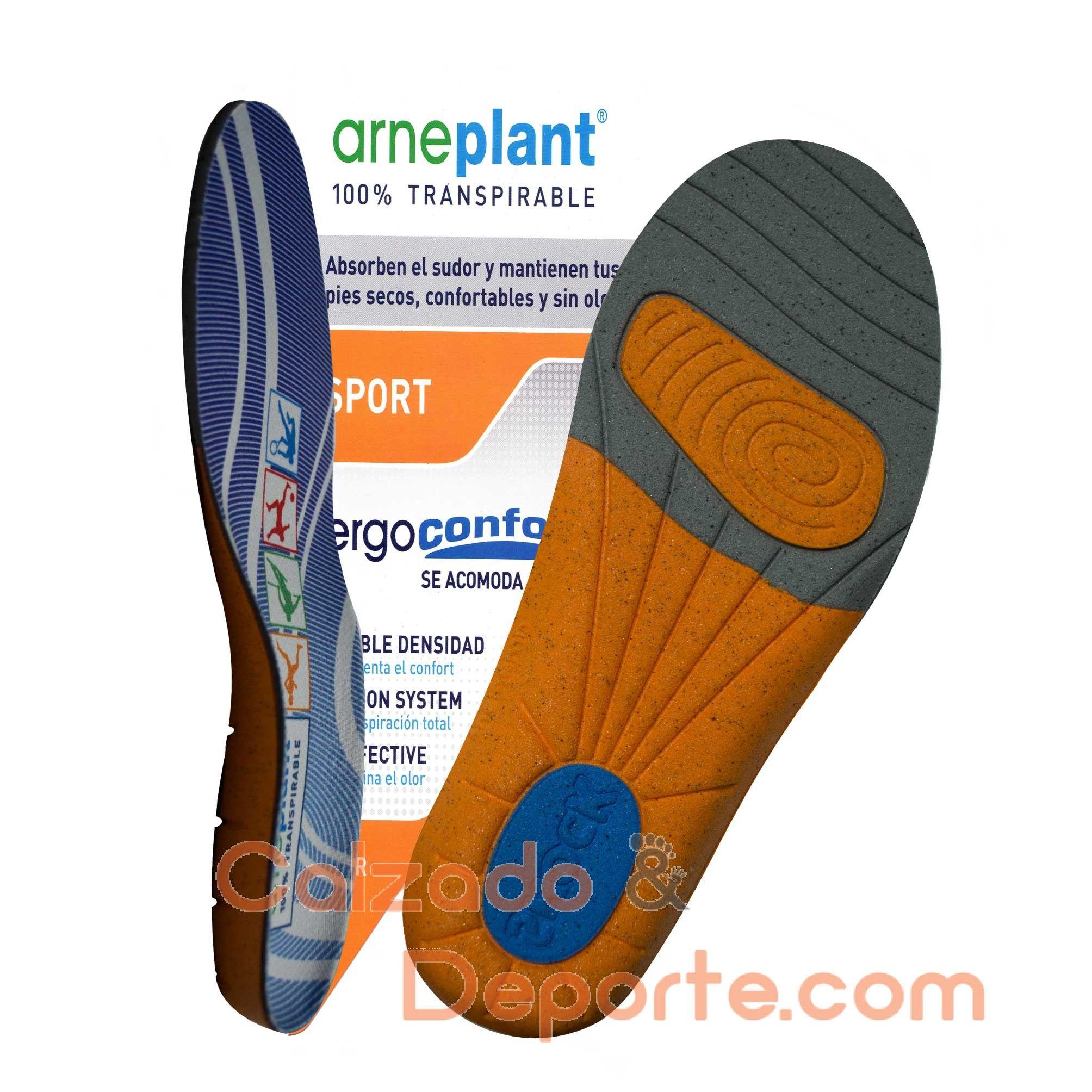 Ergoconfort Plantillas Sport Arneplant Calzado Plantilla Para El 0wUaE