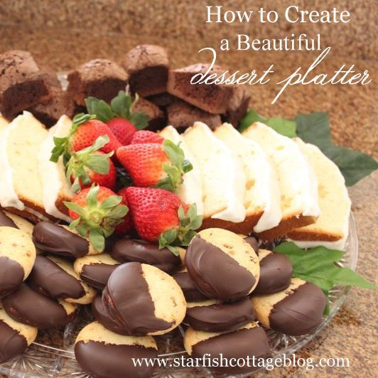 How to Create a Beautiful Dessert Platter | Graze | Dessert