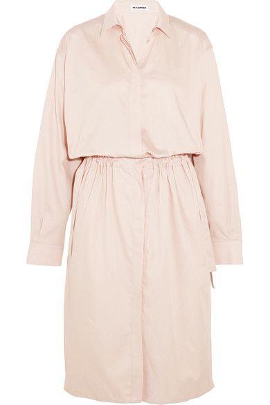 Jil Dress jilsander Shirt dresses Sander Cotton cloth rA6zr