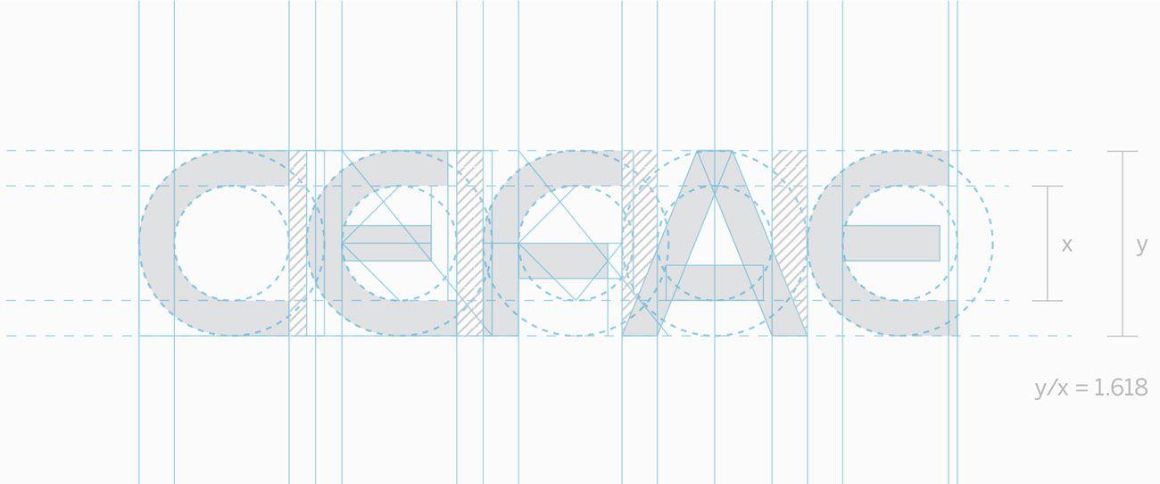 logotipo do CEFAE, curso de enfermagem que forma profissionais há mais de 20 anos no Rio de Janeiro. Logotipo feito pelo designer Walter Mattos.