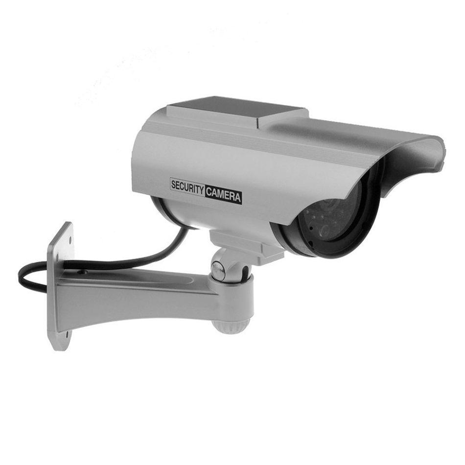 Fake Camera Solar Power Home Outoodr Dummy Camera Bullet Cctv Camera Surveillance Security Camara Security Cameras For Home Home Security Systems Home Security