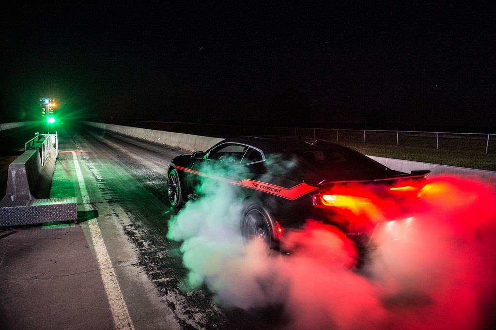 The Exorcist Hennessey S Answer To The Dodge Demon With Images