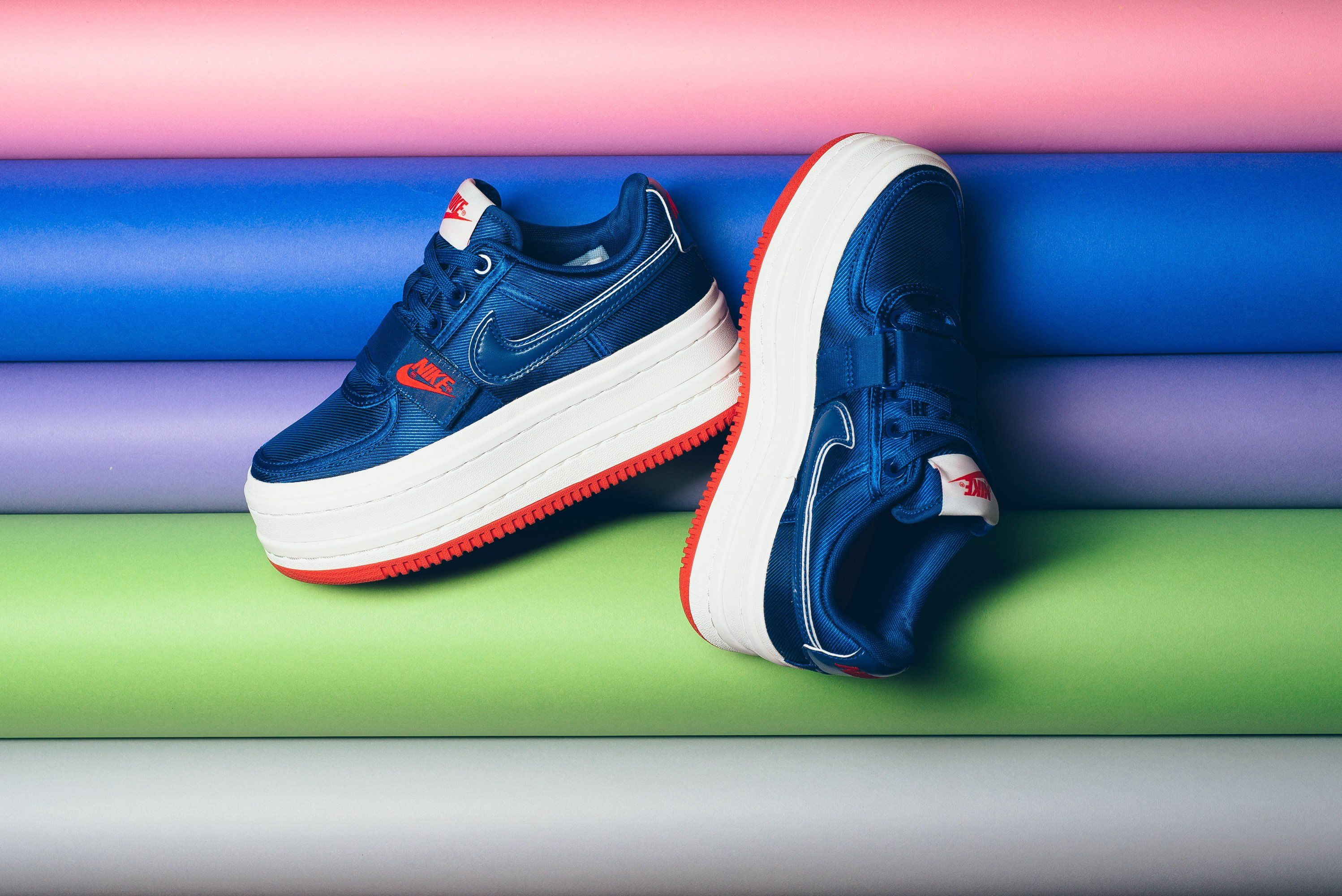 78cae6e715a3 NIKE VANDAL 2X DOUBLE STACK SURPRISE GYM BLUE PLATFORM AO2868 400 ...