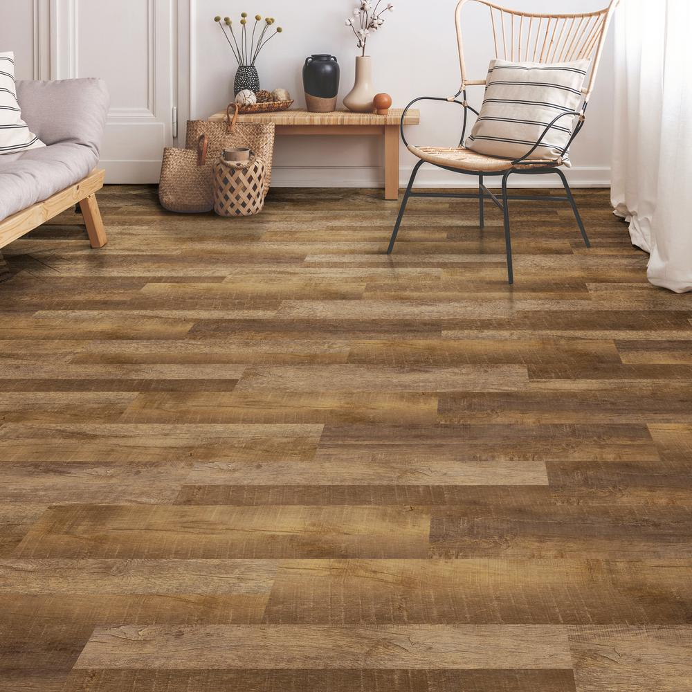 Lifeproof Multi Width X 47 6 In Basin Ridge Luxury Vinyl Plank Flooring 19 53 Sq Ft Case I1614109 Luxury Vinyl Plank Flooring Plank Flooring Vinyl Plank