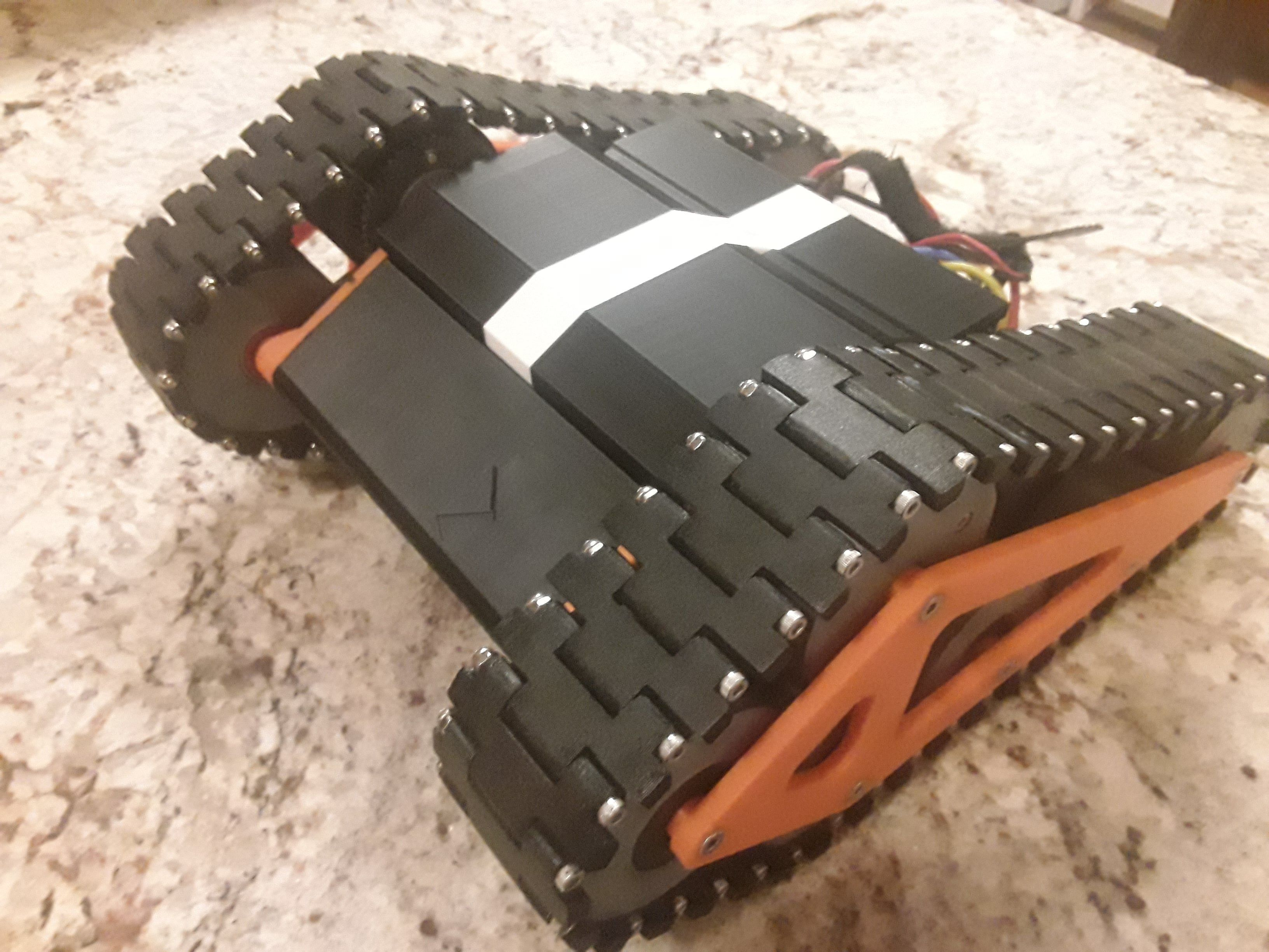 RC Speed Tank by Bryant87 Thingiverse 3d druck