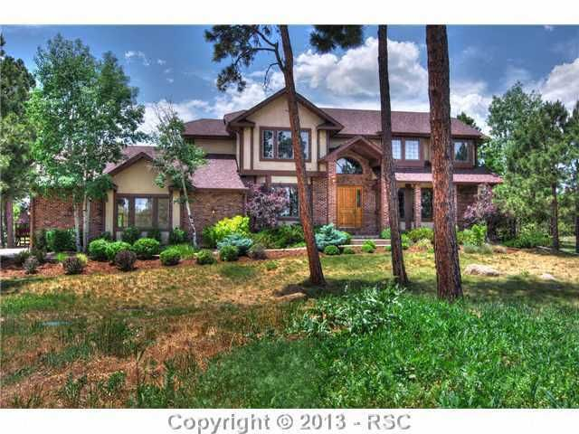 $598,500  - 3.79 ACRES  CHARTER PINES DR.  SUB:   BENT TREE  SQ. FT. 5674  BED:5 GARAGE 3 ~LOT DESC: Meadow, Mountain View, View of Pikes Peak, Trees/Woods, Level  ~LANDSCAPED: Front  ~UTILITY: Cable, Electricity, Natural Gas  ~WATER: Well  ~SANITATION: Septic  ~WELL TYPE: Household  ~WELL PERMIT: Y  ~WELLS: 1