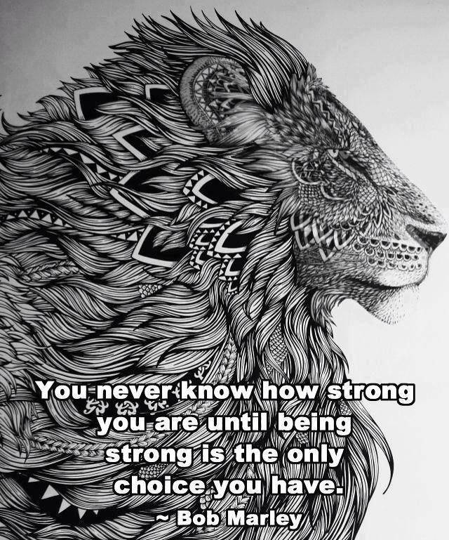 41e52c748 whole lotta detail in that lion!   Quotes   Lion tattoo design, Lion ...
