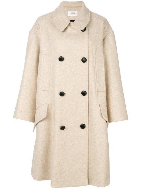 0b2db5b2d931 ETOILE ISABEL MARANT ISABEL MARANT ÉTOILE - FLICKA DOUBLE BREASTED COAT .   etoileisabelmarant  cloth  coat