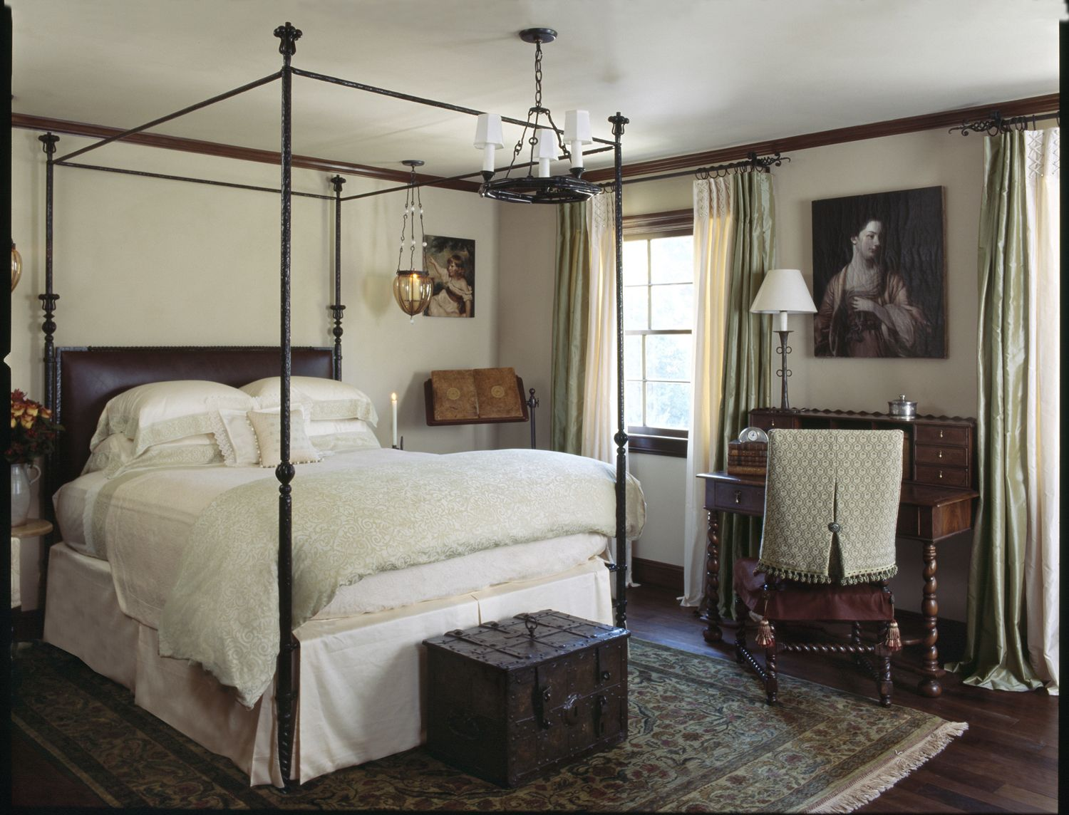 Modern Medieval Guest Room in 2019   Traditional bedroom
