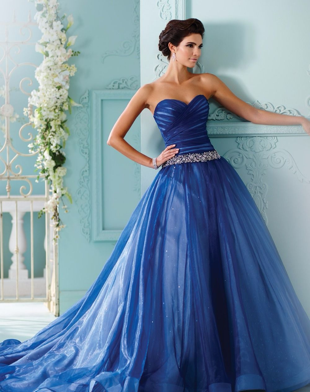 blue wedding dress - Yahoo Image Search Results | Prom Dreams ...