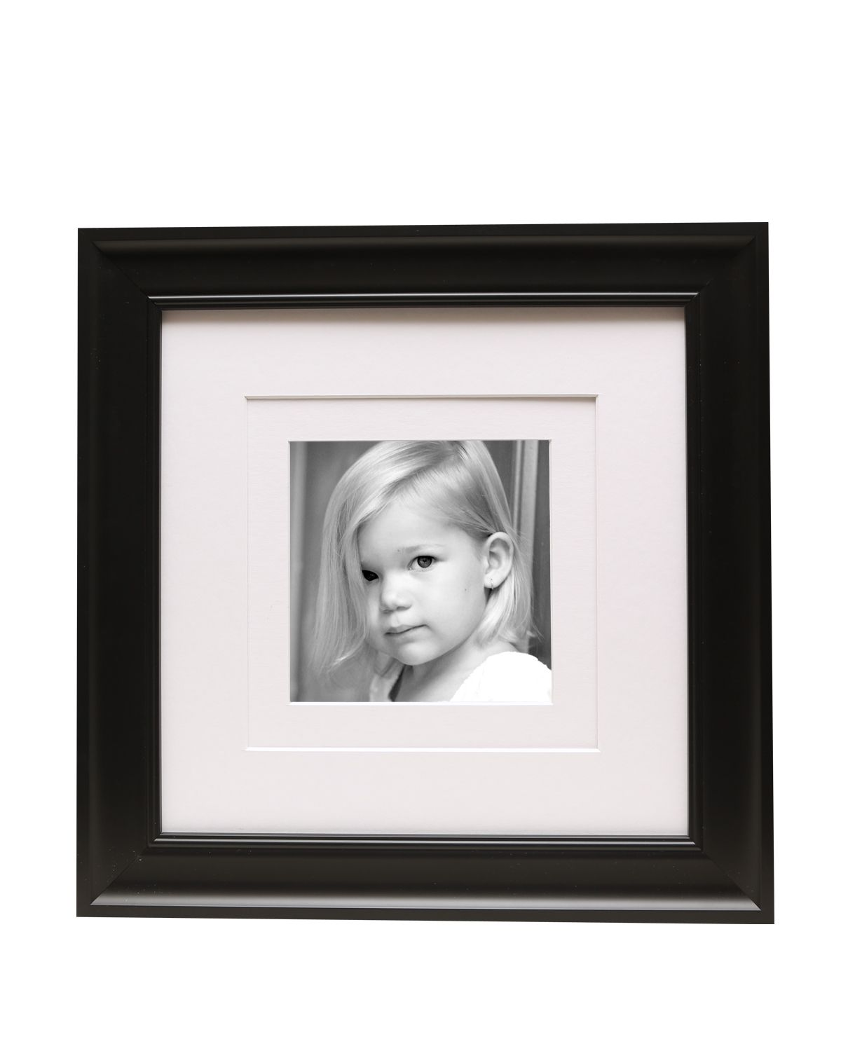 12 X 12 Black Frame Double White Mat Square Picture Frame Picture Frames Black Picture Frames Elegant Frame