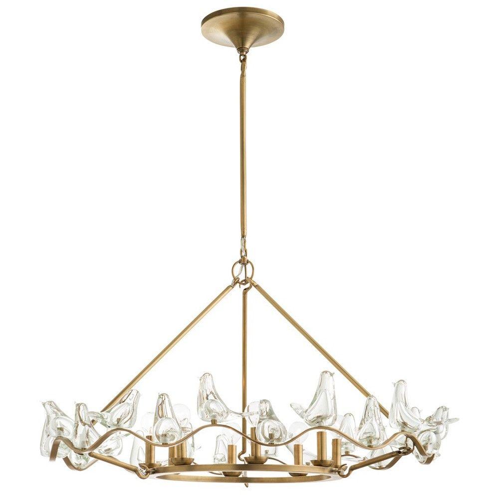 Arteriors dove chandelier laylagrayce swell stuff pinterest