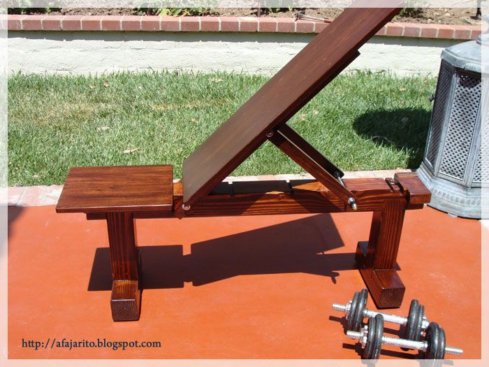 Diy Weight Bench 5 Position Flat Incline Health And Fitness