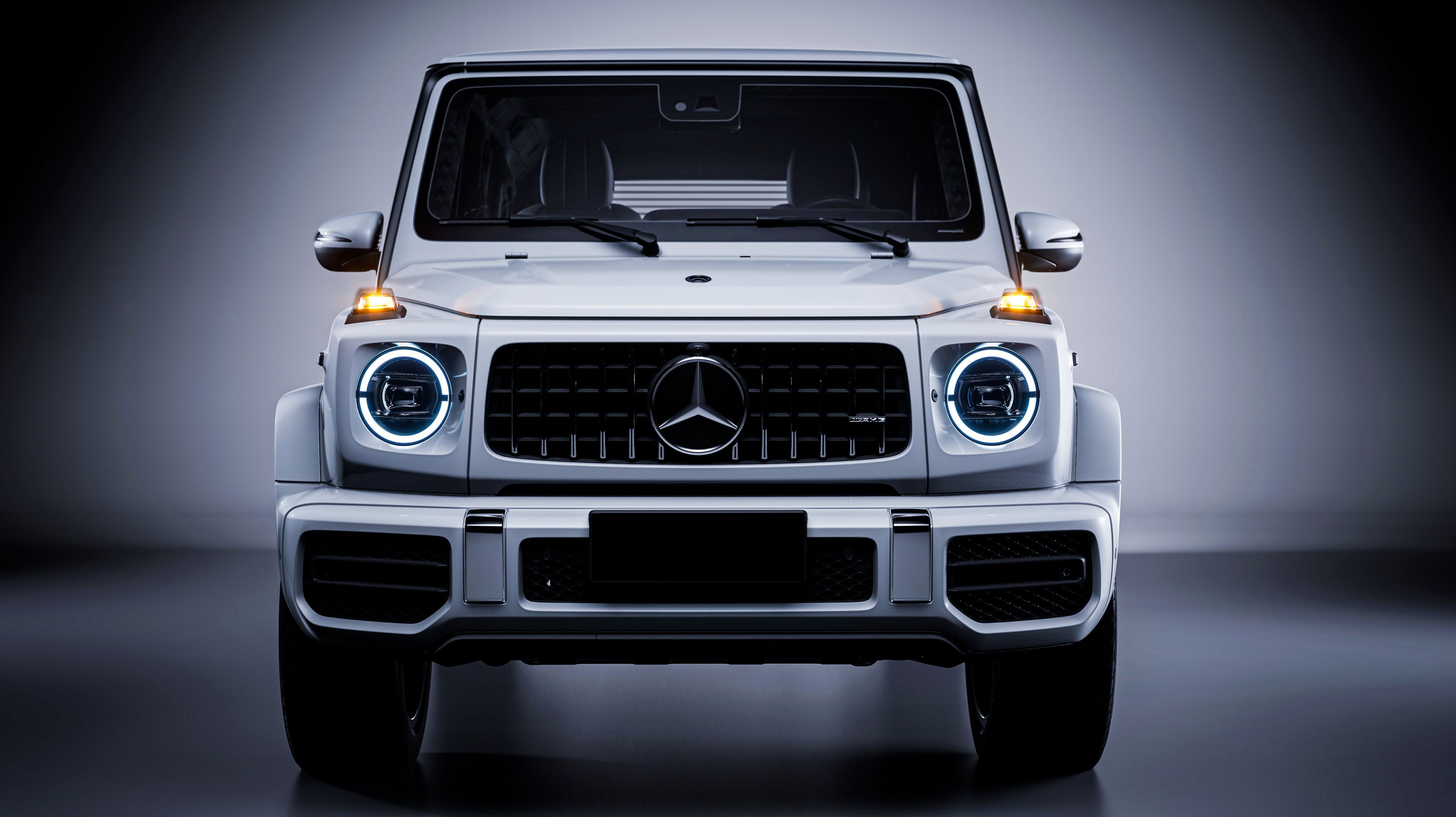 Mercedes Benz G 63 White 4k Mercedes Benz G 63 White 4k Wallpapers In 2021 Benz G Mercedes Benz