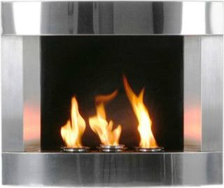 Stainless Steel Wall Mount 299 Wall Mount Fireplace