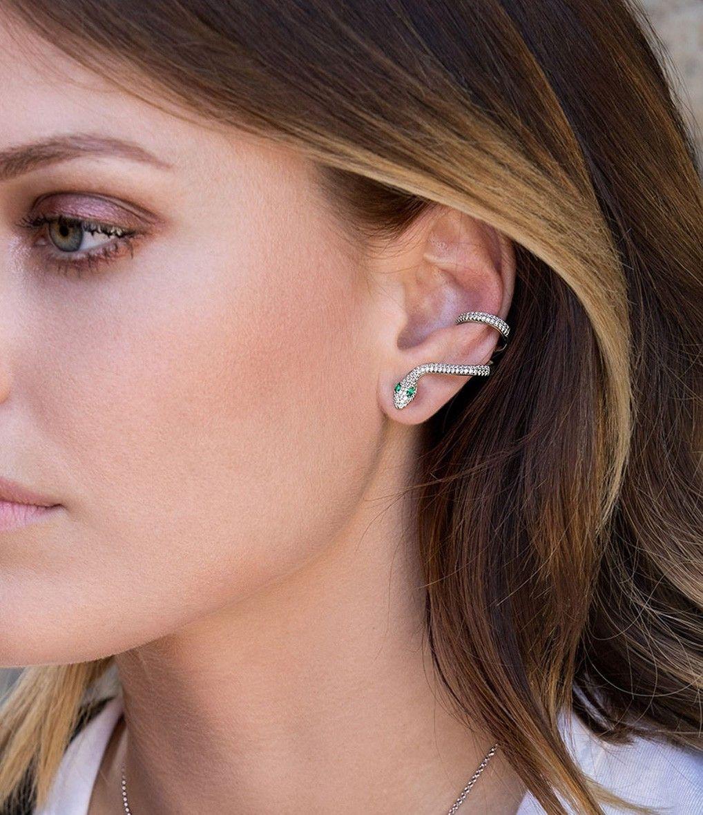 boucle d'oreille k