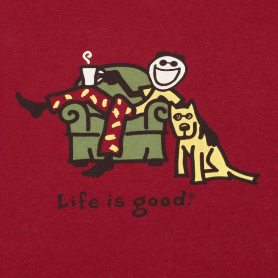 Men's Lounging Jake and Rocket Sleep Ringer | Lounging Tee Shirts | Life is good