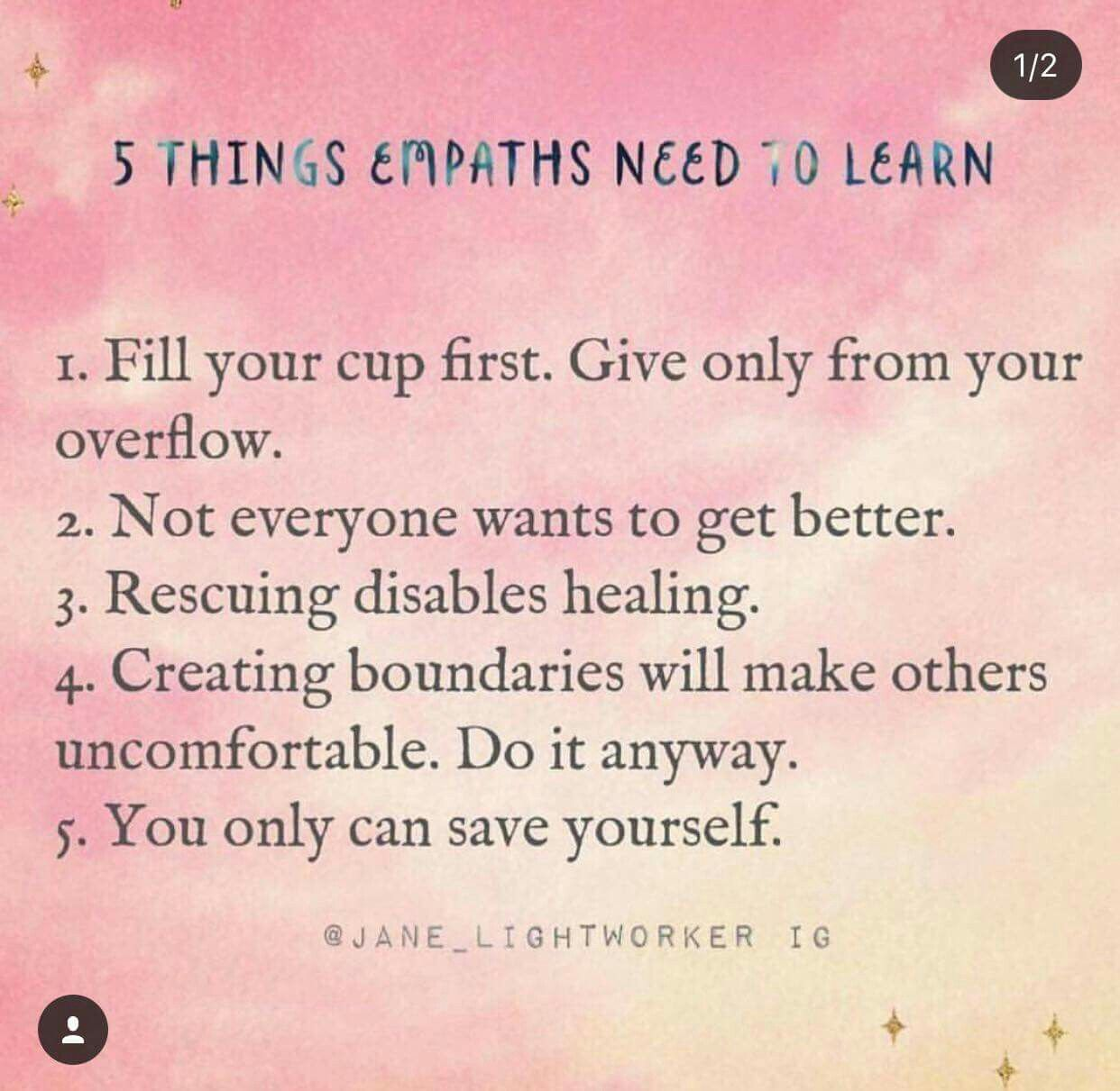 Not Everyone Wants To Get Better I Ve Seen This In Both Mental And Physical Health Problems Intuitive Empath Empath Empath Abilities