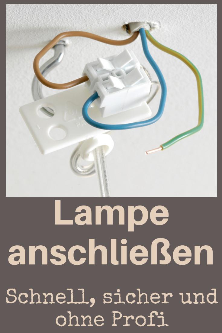 Badezimmer Lampe Anbringen