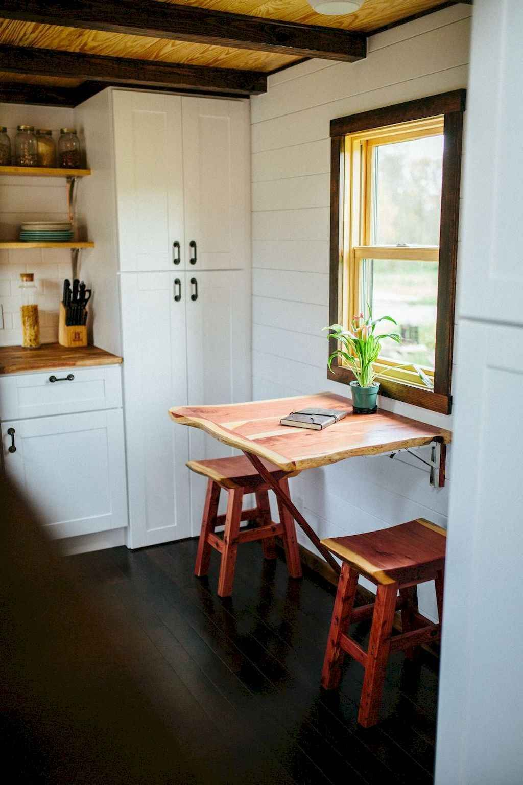 70 Tiny House Kitchen Design Ideas #tinyhousekitchens