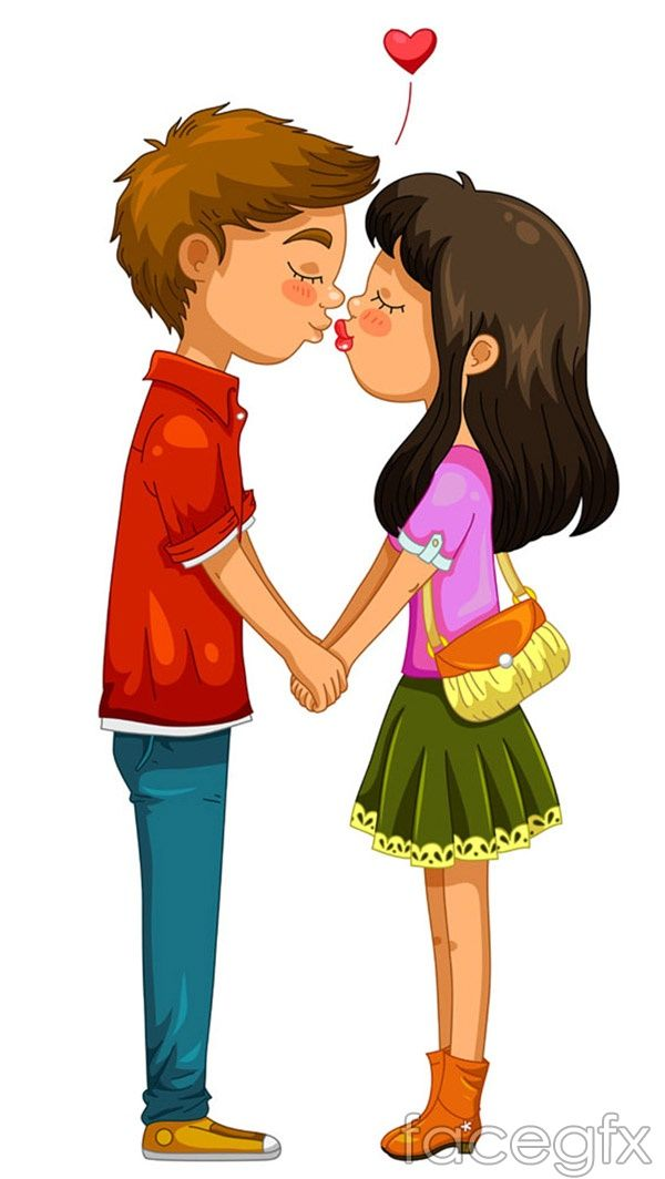 kiss cartoon characters vector kresby pinterest cartoon kiss rh pinterest com Cartoon People Kissing On the Lips Minecraft People Kissing