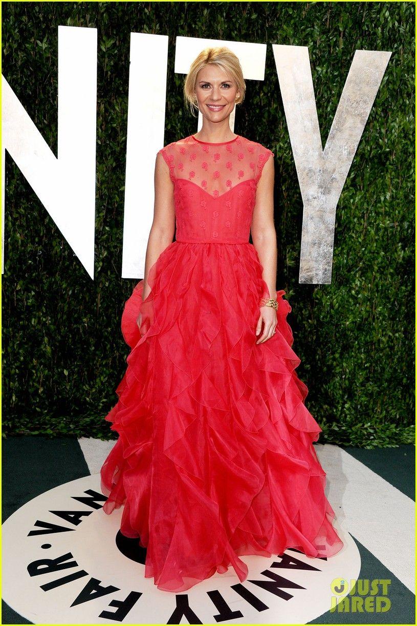 Claire Danes - Vanity Fair Oscar Party | Celeb Style | Pinterest