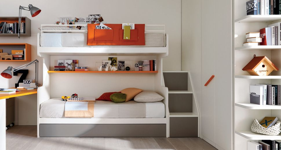 Bunk beds for children\'s room and bedrooms boys - Zalf | camerette ...