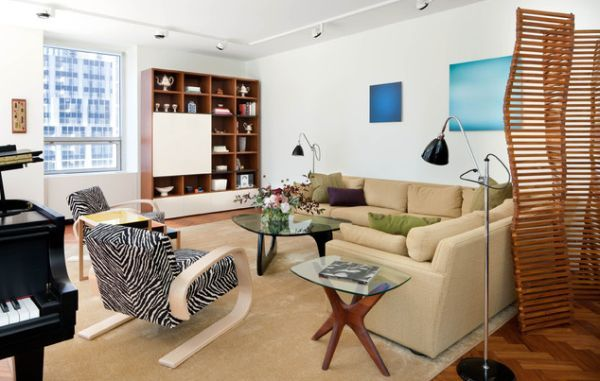 Modern Living Room Track Lighting Pillows Shining A Spotlight 34 Gorgeous Ideas For The Condo In White Employs To Bring Light And Airy Appeal